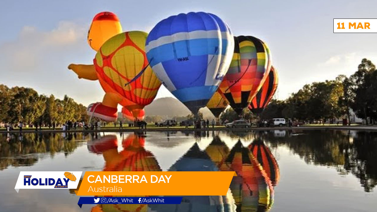 Canberra Today What Holiday Is Today