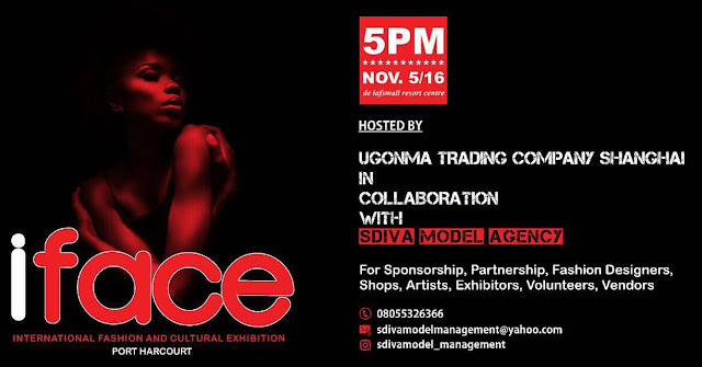 IFACE International fashion & cultural exhibition is here..designers, partners ,others called to identify