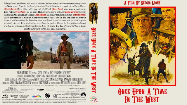 Once Upon A Time In The West Bluray Cover