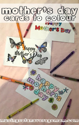 free mothers day cards to color
