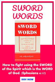 SWORD WORDS is one of the best nonfiction Christian books worth reading.