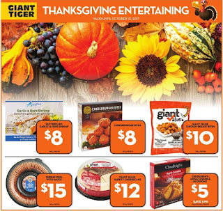 Giant Tiger Ontario flyer October 04 - 10 , 2017
