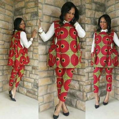 Ladies Ankara Agbada styles