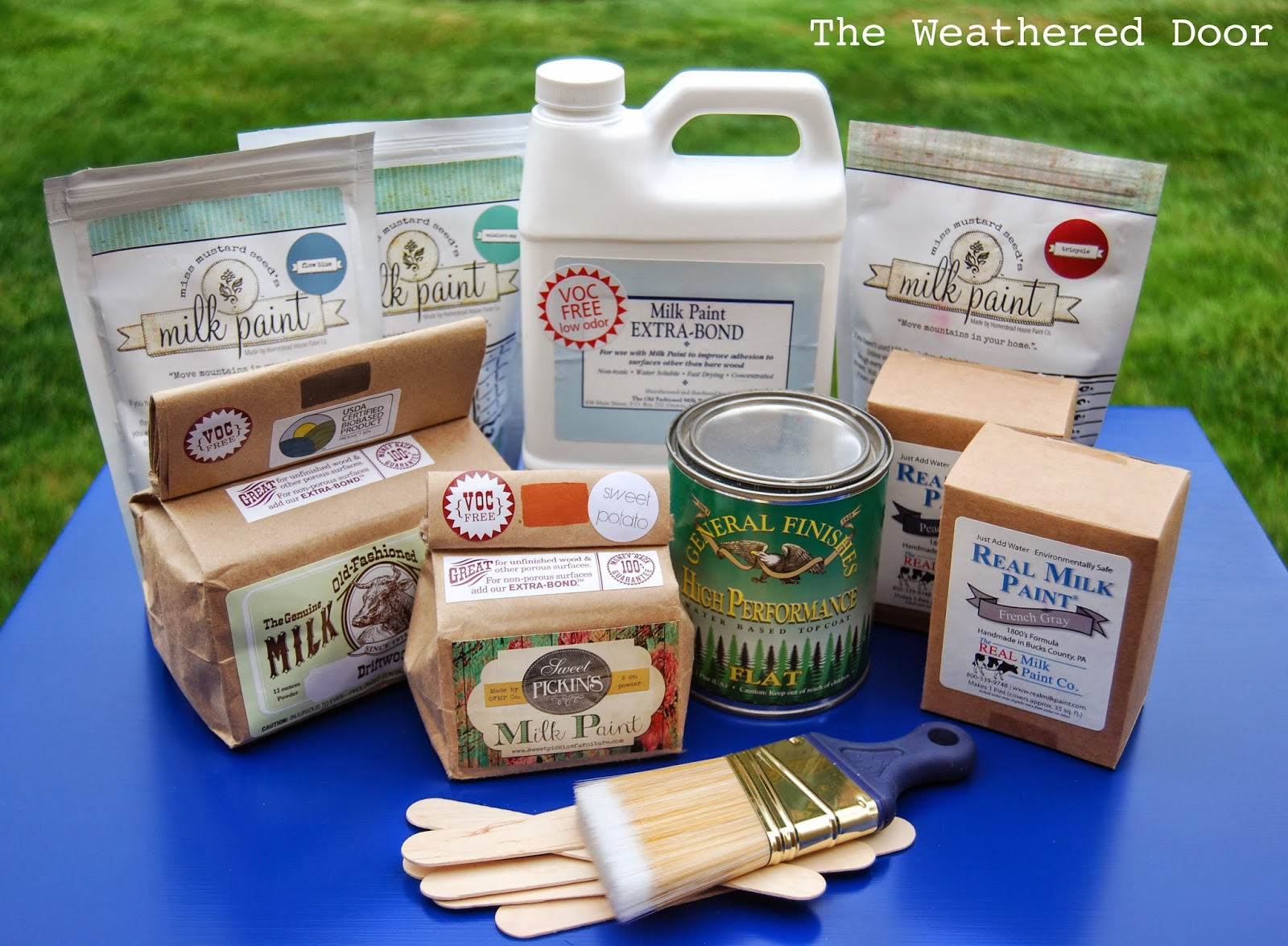Tips on Prepping, Mixing, Painting and Sealing Milk Paint