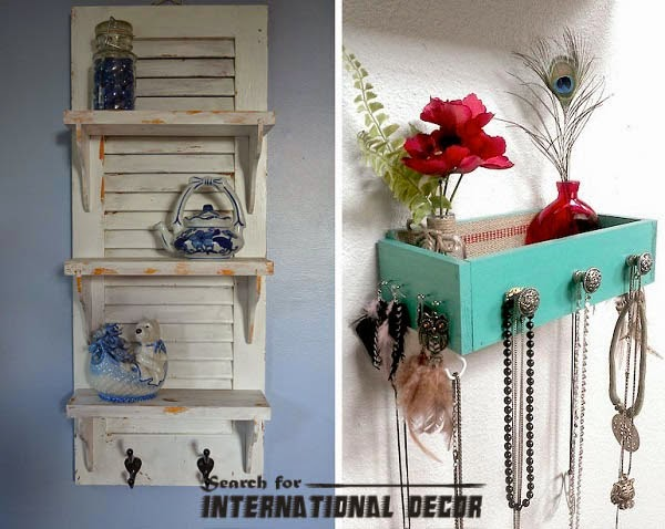 Recycle Old Furniture Doors Drawers Shelves