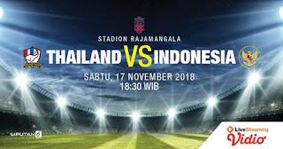 Jadwal & Prediksi Thailand vs Indonesia Piala AFF 2018