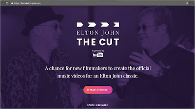 Elton John The Cut YouTube website