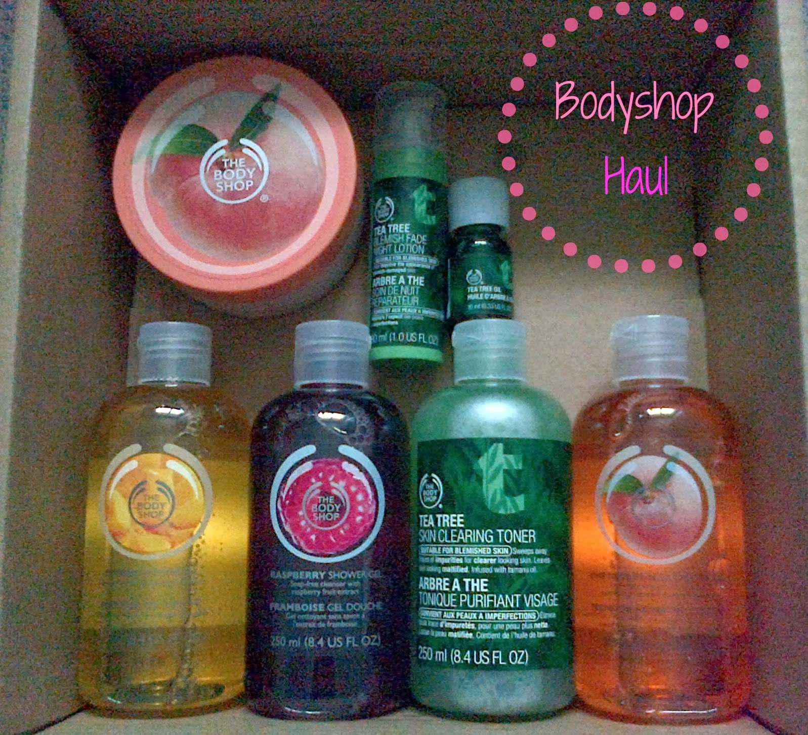 The Bodyshop Haul