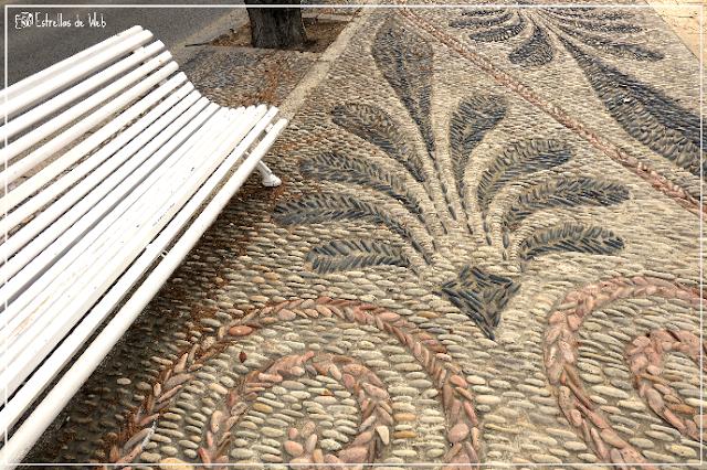 #marigel #suelo #estrellasdeweb #tarragona #tarraco #banco #piedra #empedrado