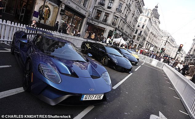 London Emerges The Luxury Vehicles  Capital Of The World