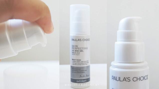 Review Paula's Choice Skin Perfecting 2% BHA (Salicylic Acid) Gel