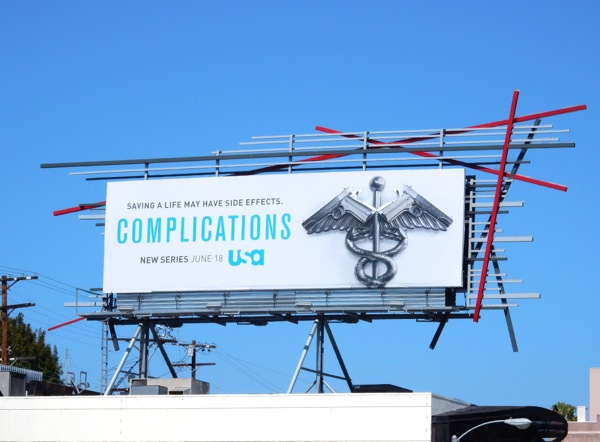 Complications series premiere billboard