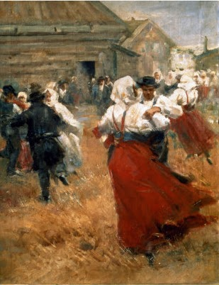 Anders Zorn - Festival campestre - c. 1890