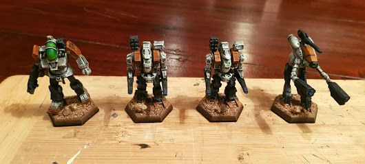 Battletech: Heavy Command Lance TO-DONE!