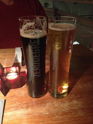 Zerodegrees-Microbrewery-and-Restaurant-Cardiff-Review-picture-of-beer-pint-of-dark-and-light