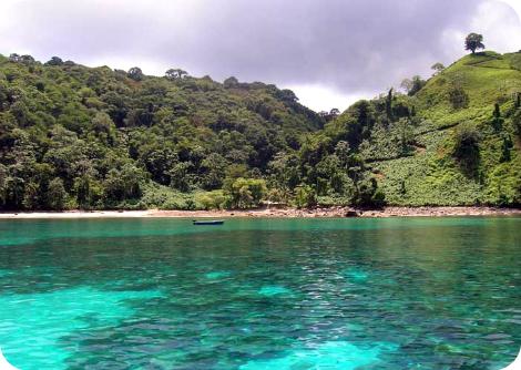 Bahia Wafer, Isla del Coco