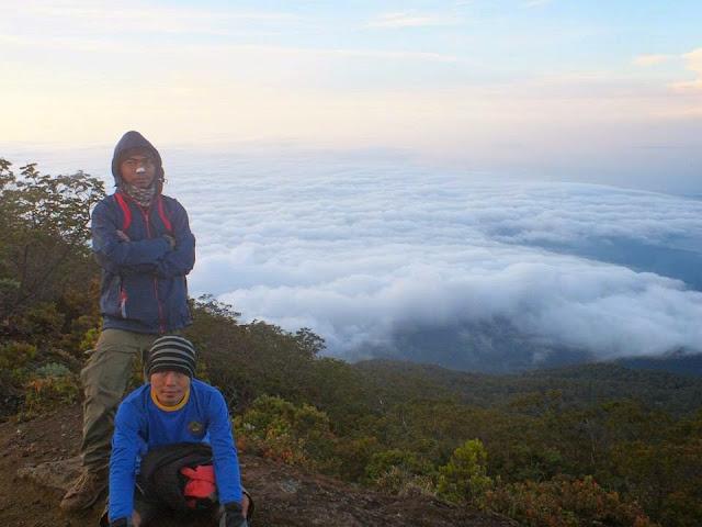 Samudara Awan Gunung Ciremai