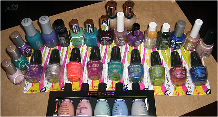xoxoJen's Nail Polish Haul June 2010