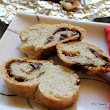 Experiments,Emotions,Experiences with food: Krendel - Ukrainian/Russian Fruit Filled Pretzel Shaped Festive Bread | We Knead to Bake #34