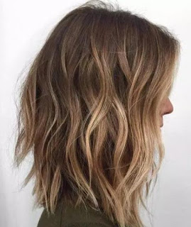 Brown Caramel Highlights Balayage