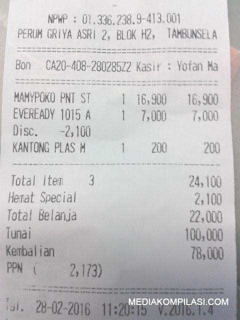 Kebijakan Plastik Berbayar Mulai diterapkan Minimarket di Bekasi