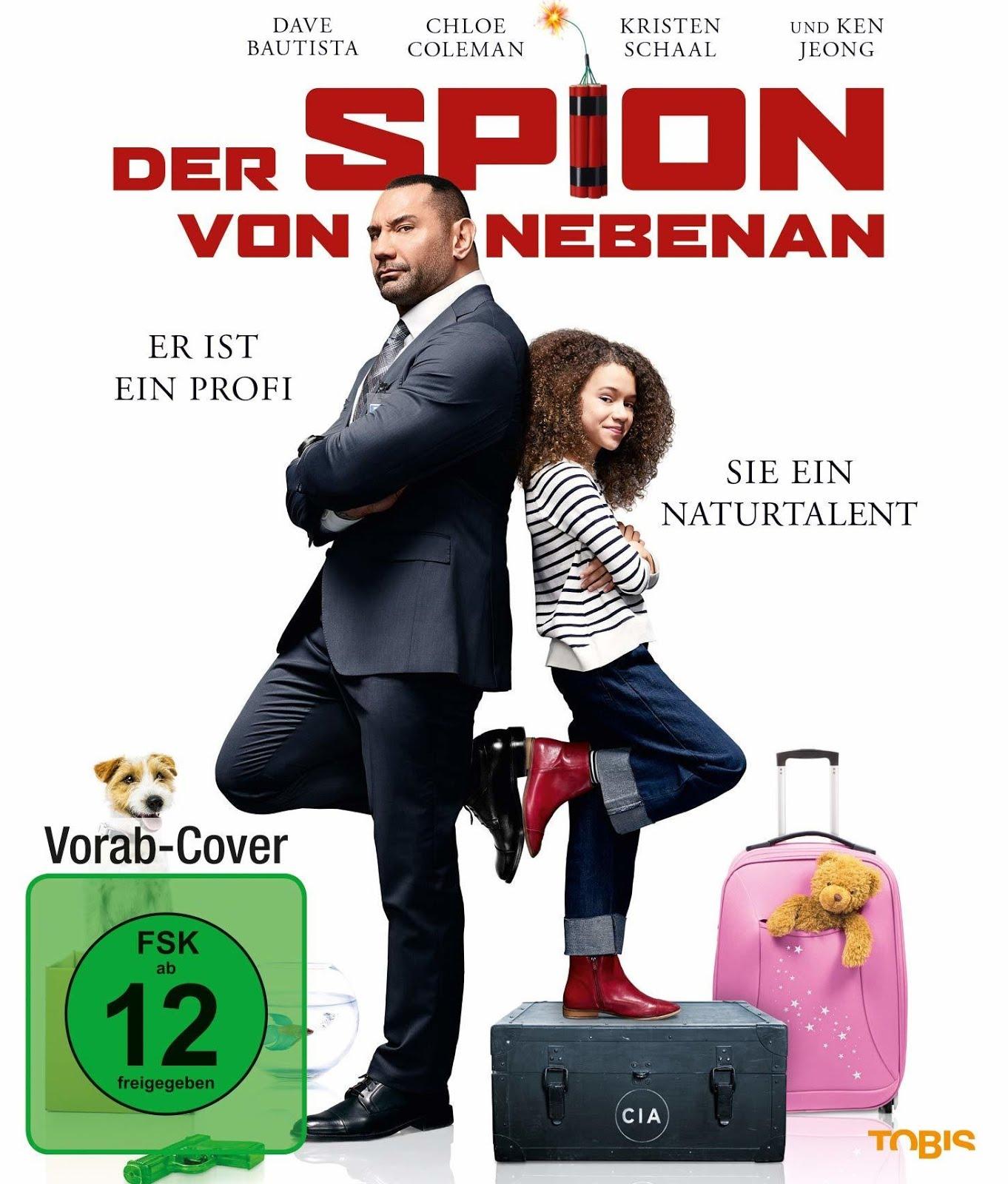 My Spy (2020) Hindi Dubbed 350MB BRRip 480p
