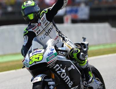 Crutchlow Tercepat di Uji Coba MotoGP Catalunya