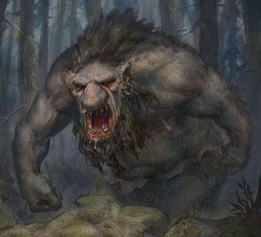 Troll en el bosque