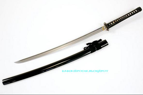 Zamrispoon  Pedang Samurai Terkenal Didunia
