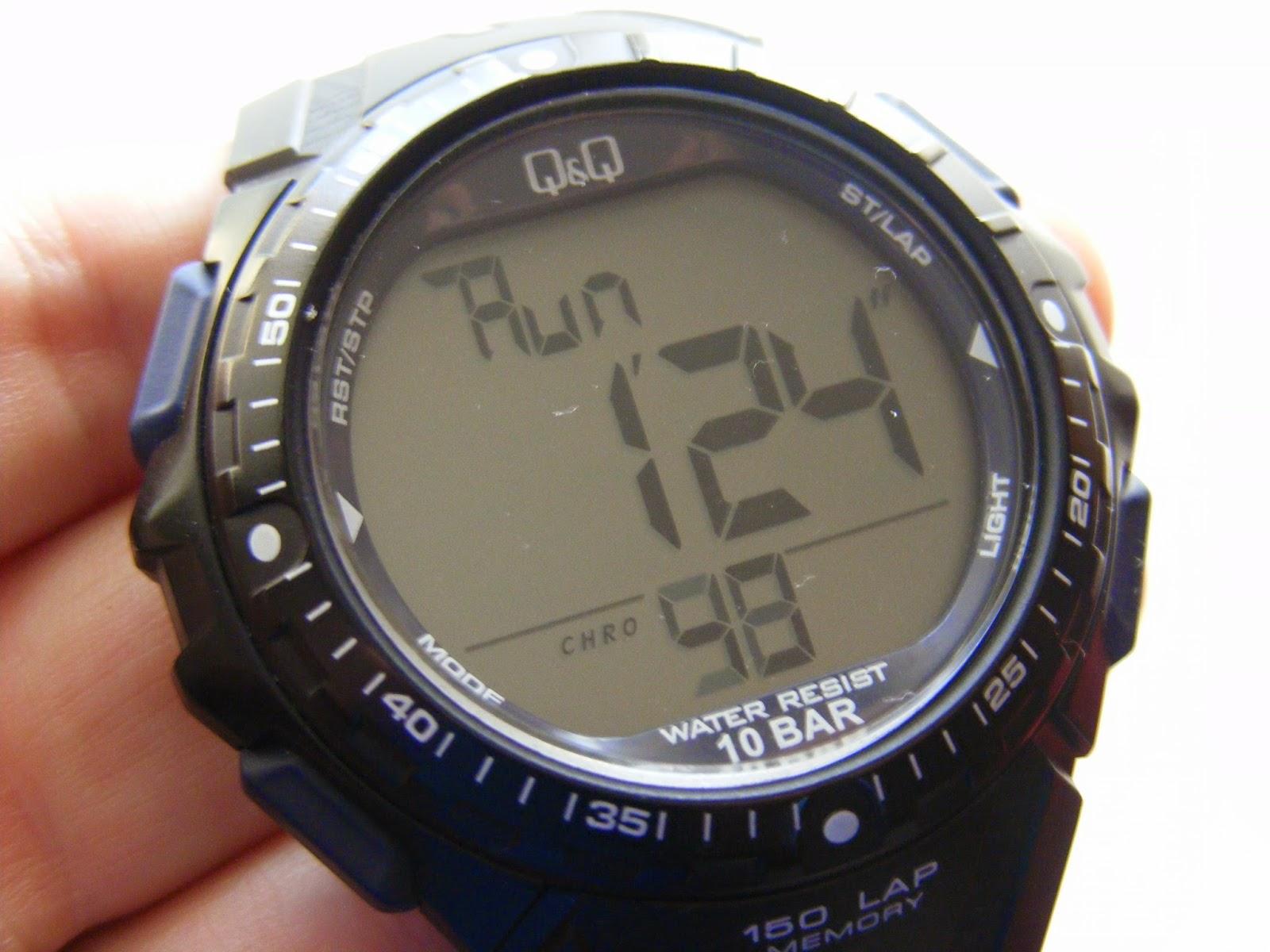 sport digital watch chrono