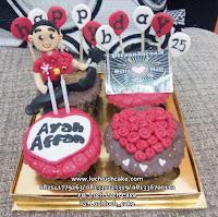 Cupcake Ulang Tahun Untuk Ayah / Suami