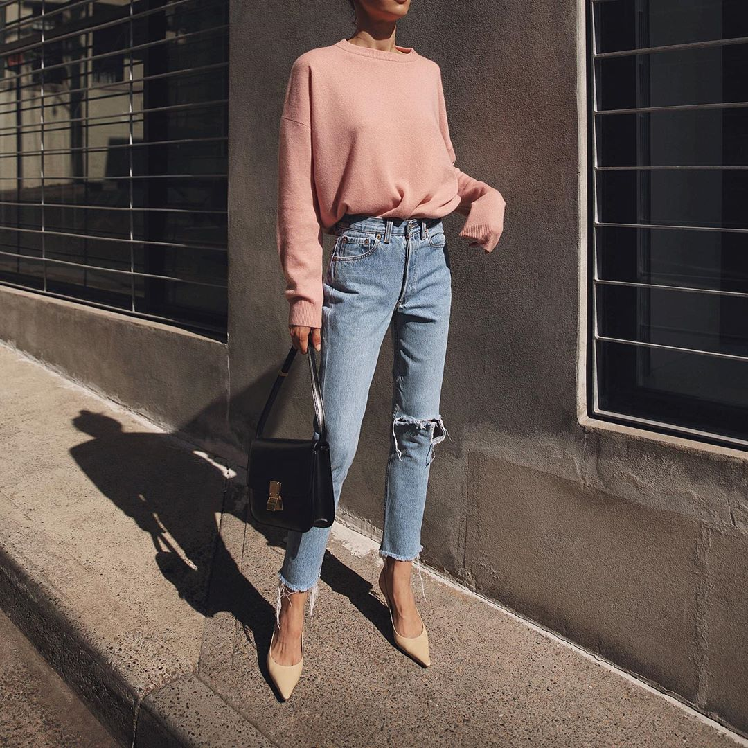Raw-Hem Jeans are Cooler Than Ever