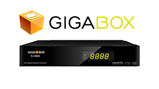 GIGABOX NOVA ATUALIZAÇÃO -  Gigabox-S1000-HD