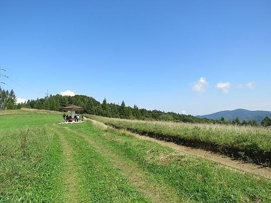 Z prawej widać Błyszcz (945 m n.p.m.).