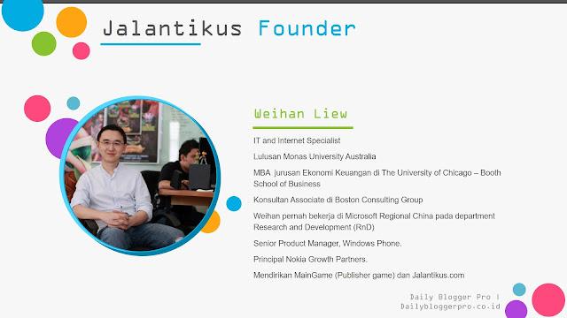 Founder Jalantikus.com