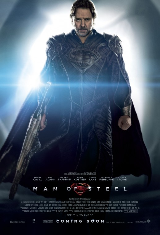 Man of Steel Jor-El movie poster