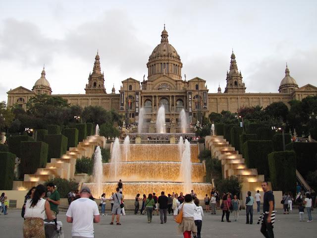 Museu Nacional de Arte da Catalunya em Barcelona