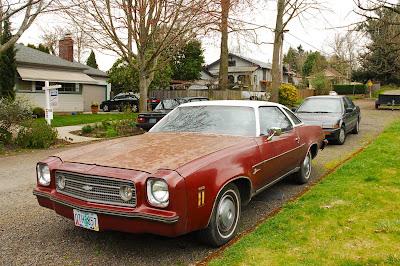 old parked cars 1973 chevrolet laguna. Black Bedroom Furniture Sets. Home Design Ideas