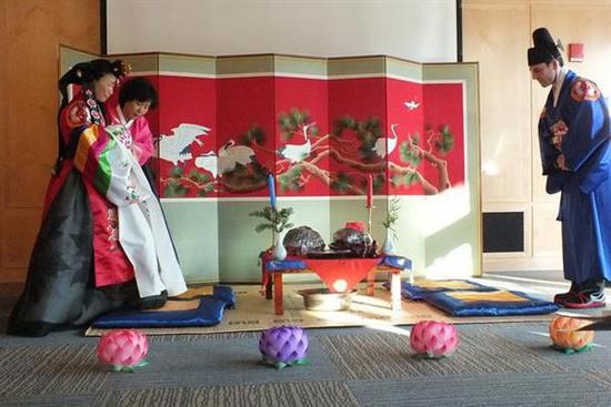 Lễ cưới cổ truyền của Hàn Quốc