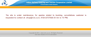 Last year the IRCTC had launched its e-commerce site in partnership with Yebhi.com.  IRCTC's online shopping  site powered by Yebhi was ho...