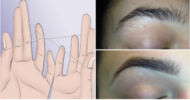 How To Thread Your Eyebrows Without Tweezers In 5 Minutes Or Less
