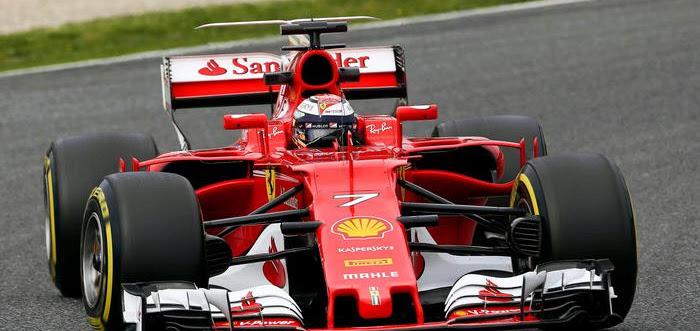 """F1. Barcellona, giorno 8: """"Flash"""" Raikkonen chiude i test con un crono sbalorditivo"""
