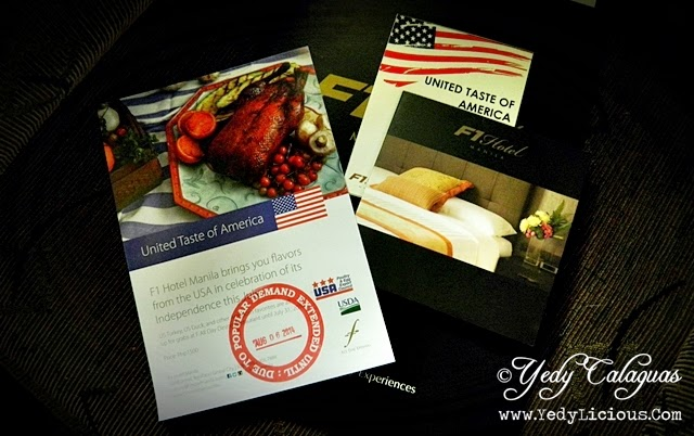 Unite Taste of America Buffet at F1 Hotel Manila