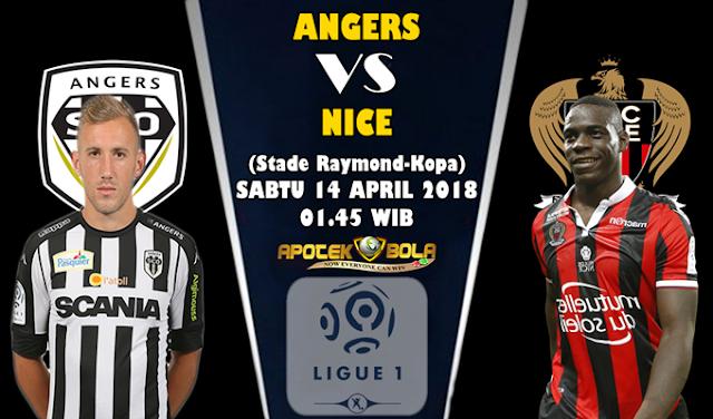 Prediksi Angers vs Nice 14 April 2018
