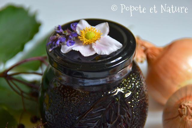 Chutney de baies de sureau noir  © Popote et Nature
