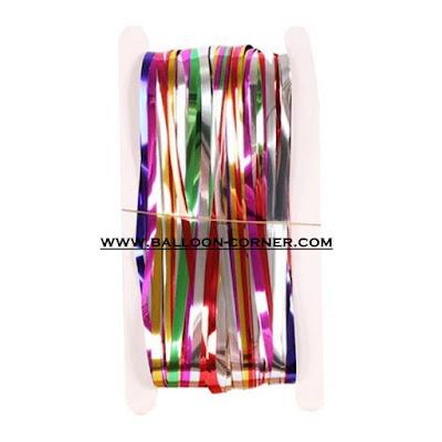Rainbow Foil Curtain / Tirai Foil Pelangi