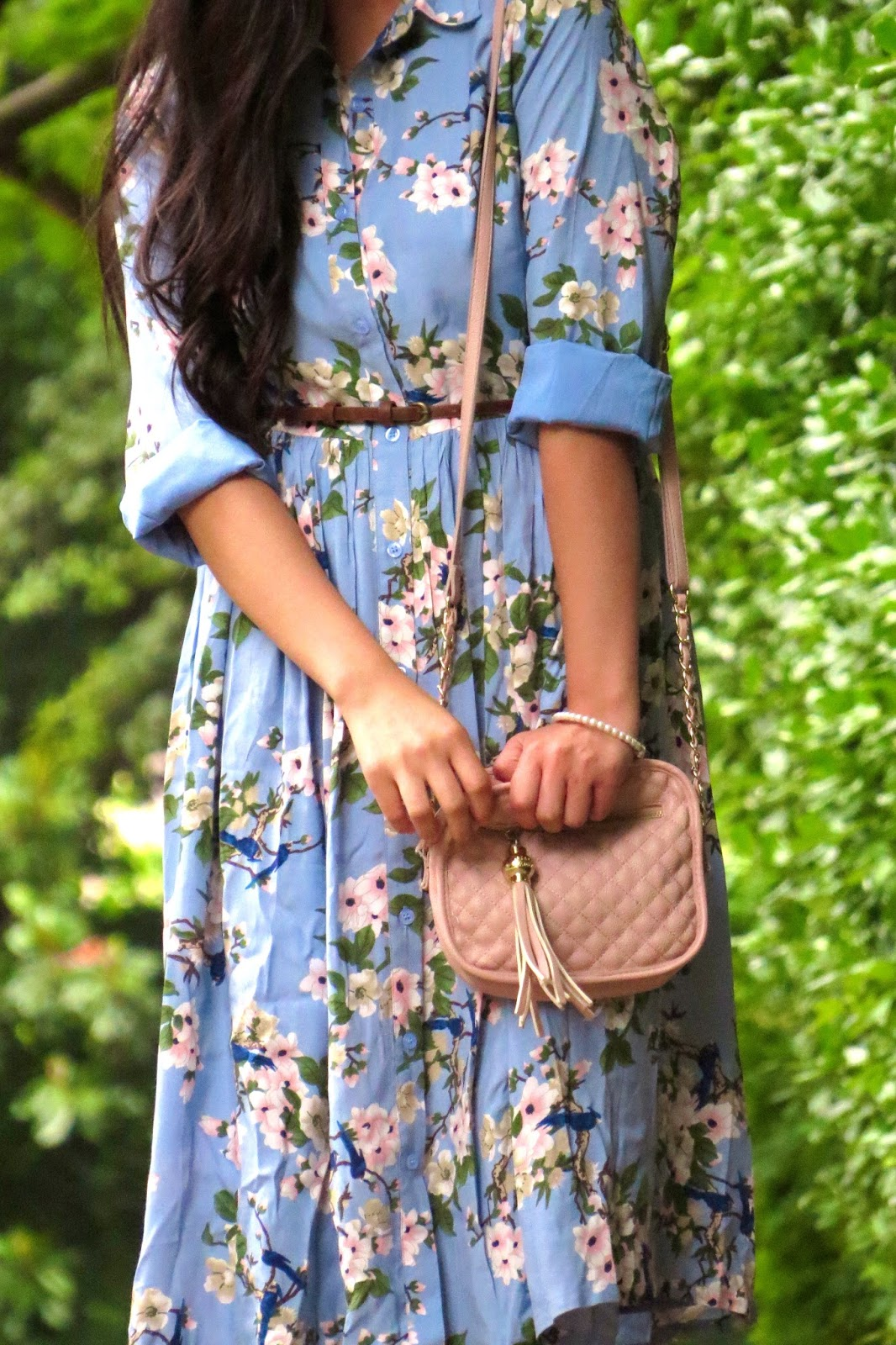 Dainty Jewells Blue midi dress