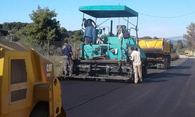 Ξεκίνησαν στο Δήμο Ερμιονίδας οι αποκαταστάσεις και οι επουλώσεις δρόμων