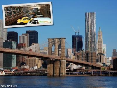 Quarteto Fantástico na Brooklyn Bridge