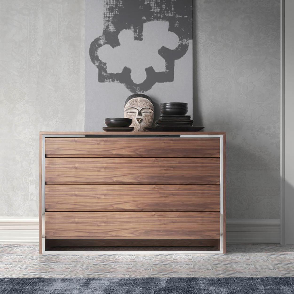 Muebles de dormitorio comodas orden y estilo para tu - Comodas modernas para dormitorio ...